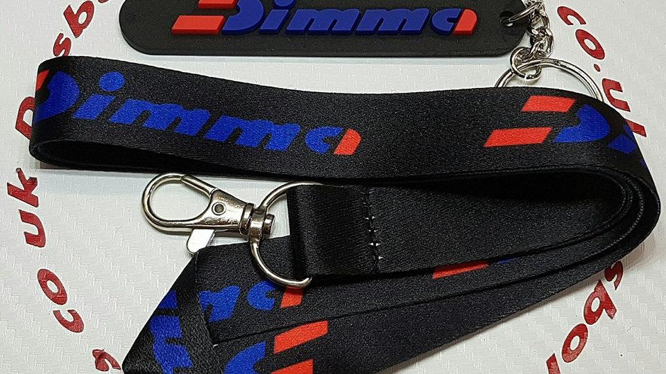 Peugeot 205 Dimma Lanyard + Key Ring