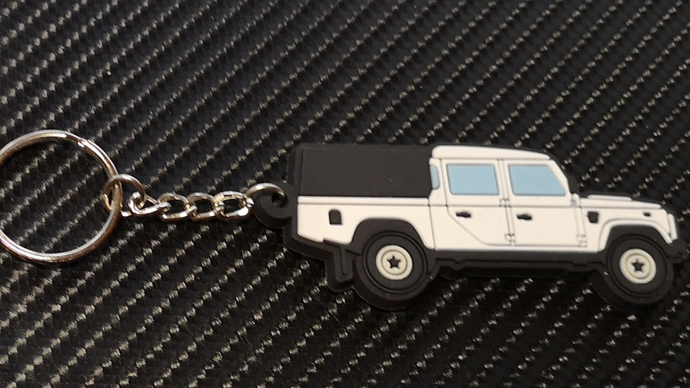 Landrover 130 Double Cab & 3/4 Tilt White