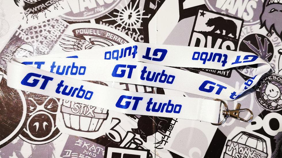 Renault 5 GT Turbo Lanyard White/Blue