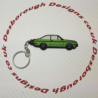 Escort RS2000 Key Ring Java Green
