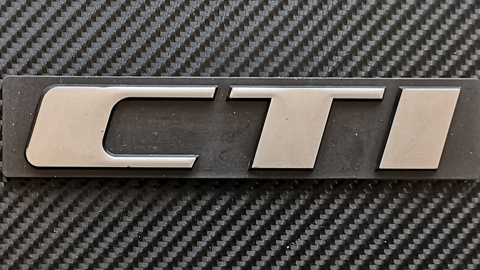 Peugeot CTI Reproduction Rear Badge