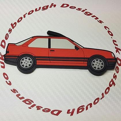 Peugeot 309 Fridge Magnet Cherry Red