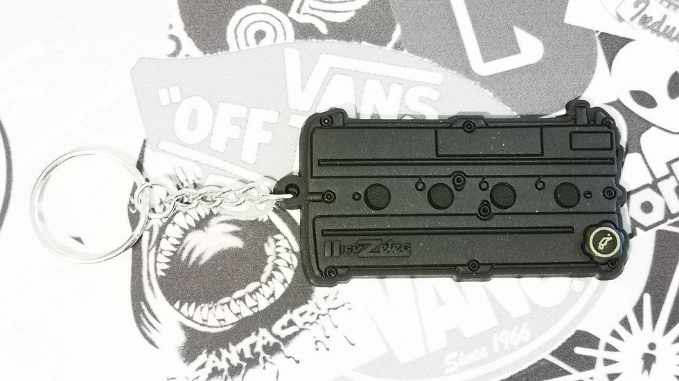 Ford Zetec Rocker Cover Key Ring Black