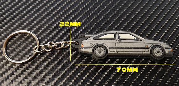 RS 500 Cosworth Key Ring Silver