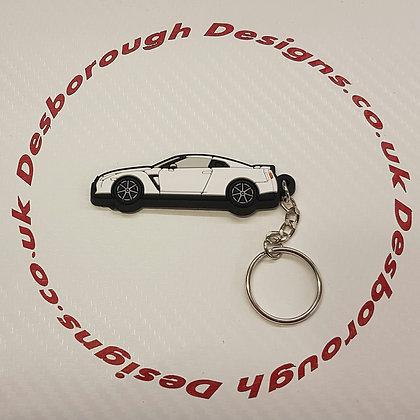 Nissan GTR R35 White