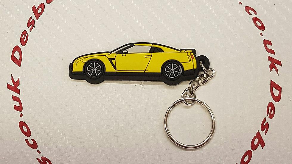 Nissan GTR R35 Yellow
