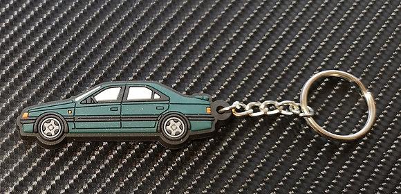 Peugeot 405 Mi16 / T16 Key Ring Green