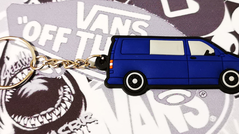 Volkswagen T5 Camper Blue Van with rear Window