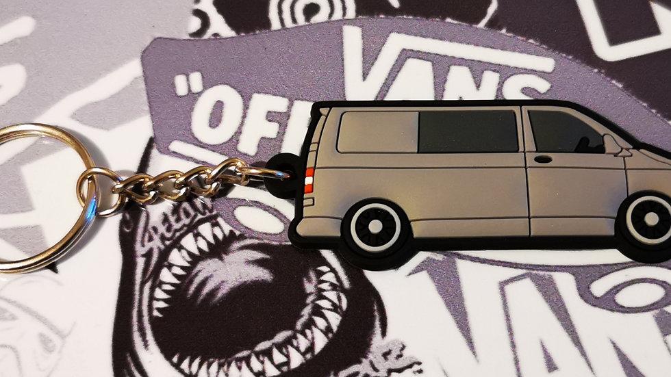 Volkswagen T5 Camper Van Grey with rear Window