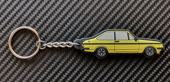 Escort RS2000 Key Ring Signal Yellow