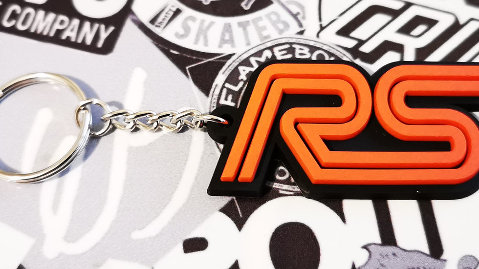 Ford RS Focus ST Key ring  Black / Red