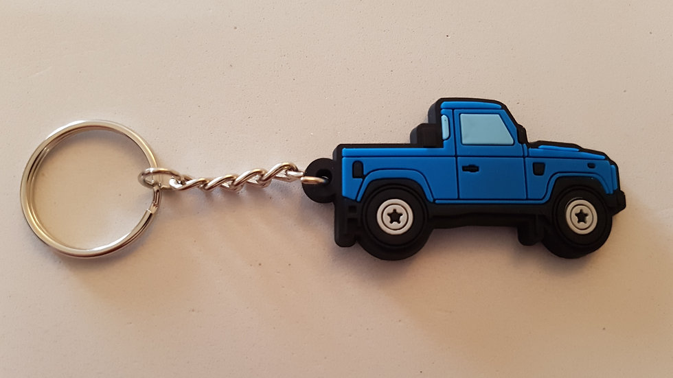 Landrover 90 Truckcab Blue