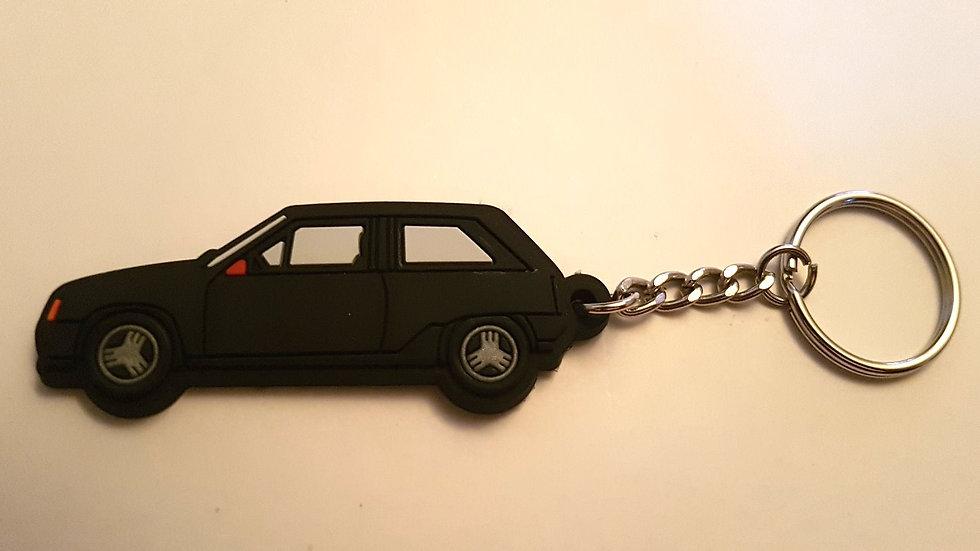 Vauxhall  Nova / Opel Corsa Key Ring Black