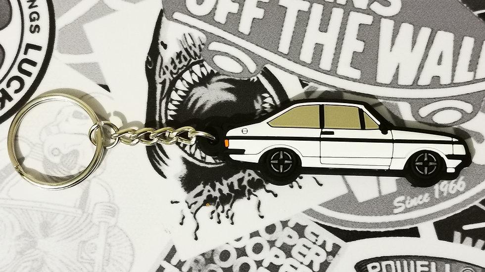 Escort RS2000 Key Ring Diamond White