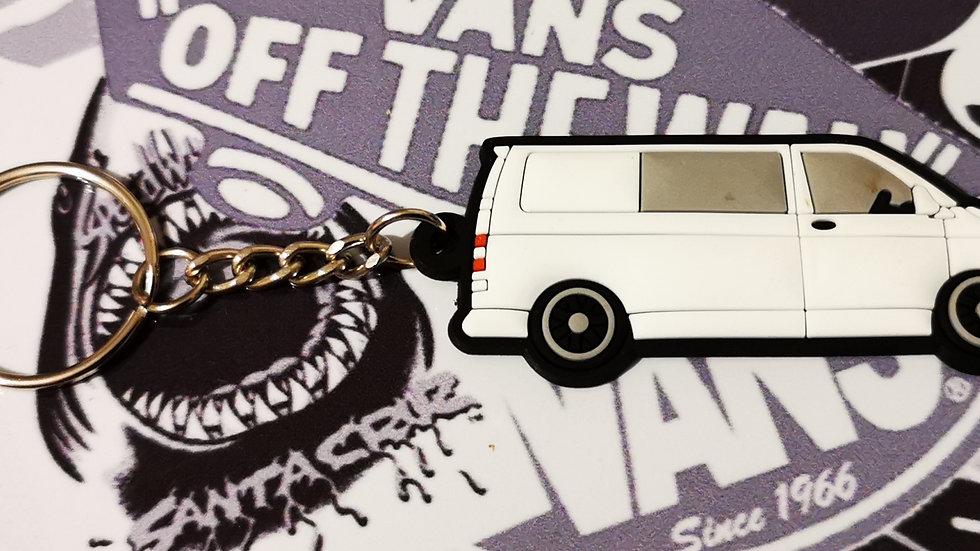 Volkswagen T5 Camper Van White with rear Window