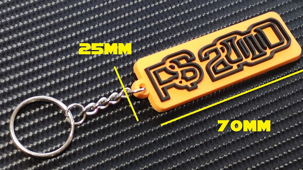 Escort RS2000 Key Ring Signal Orange