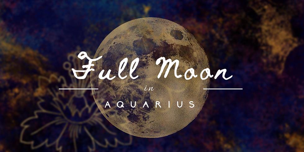 Full Moon in Aquarius Meditation