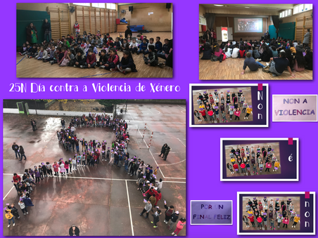 25N: Día Internacional da Eliminación da  Violencia contra as Mulleres