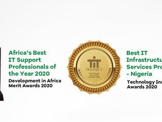 Tranter IT recognized as Best IT Support Provider & ICT Company of the year