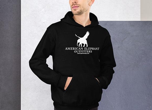 American Elephant Hoodie