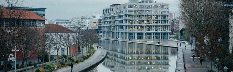 W, Canal Pantin,Janvier 2018