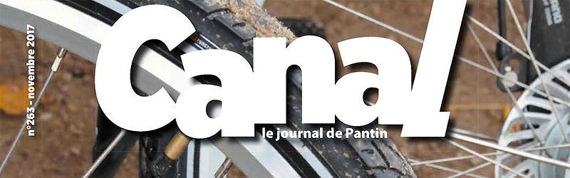 W, Canal Pantin, Novmbre 2017