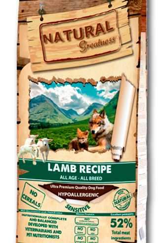 NATURAL GREATNESS LAMB RECIPE