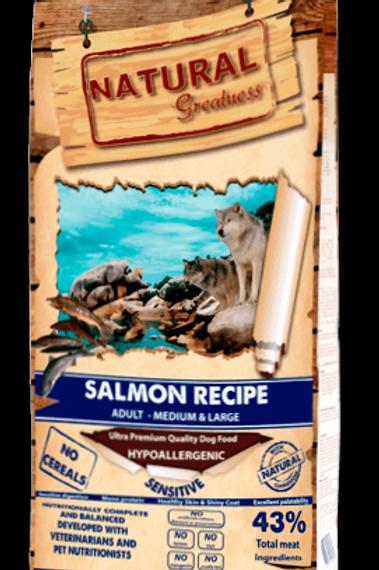 NATURAL GREATNESS SALMON RECIPE