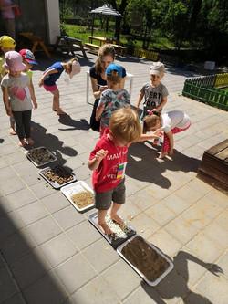 Aktivity na zahradě