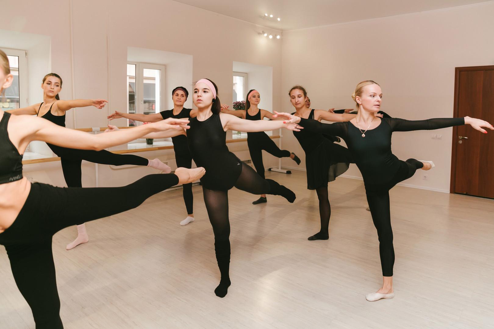 балетный класс у взрослых