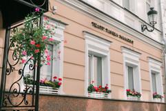 Фасад студии Малахит на улице Сретенка