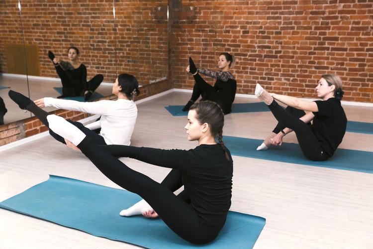 партерный класс - балетная гимнастика