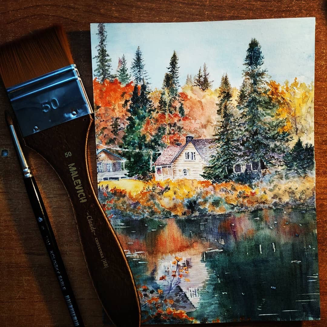 рисунок преподавателя масляной живописи
