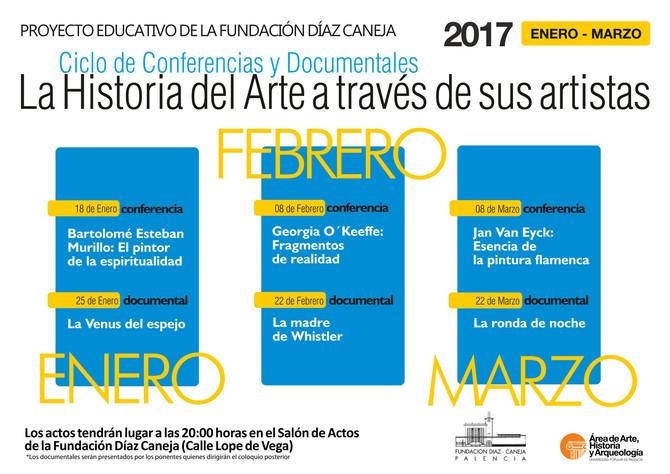 Ciclo Divulgativo Historia del Arte en la Fundación Díaz Caneja