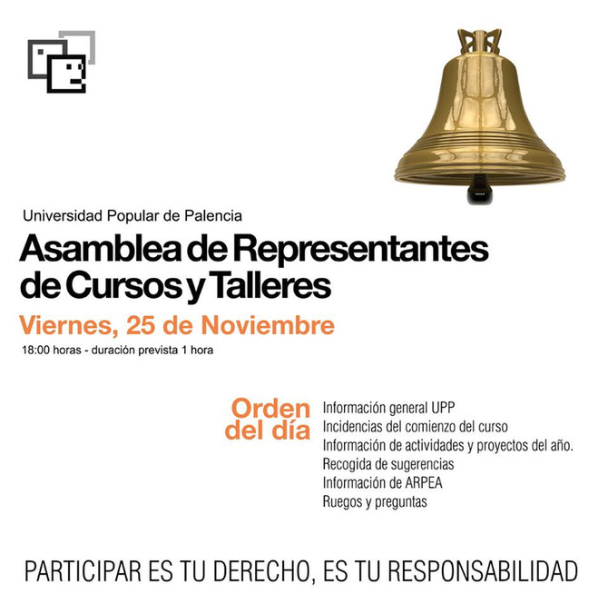 Asamblea de Representantes de Cursos y Talleres
