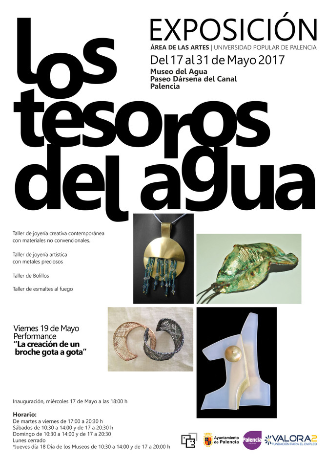 Exposición del Área de las Artes en el Museo del Agua