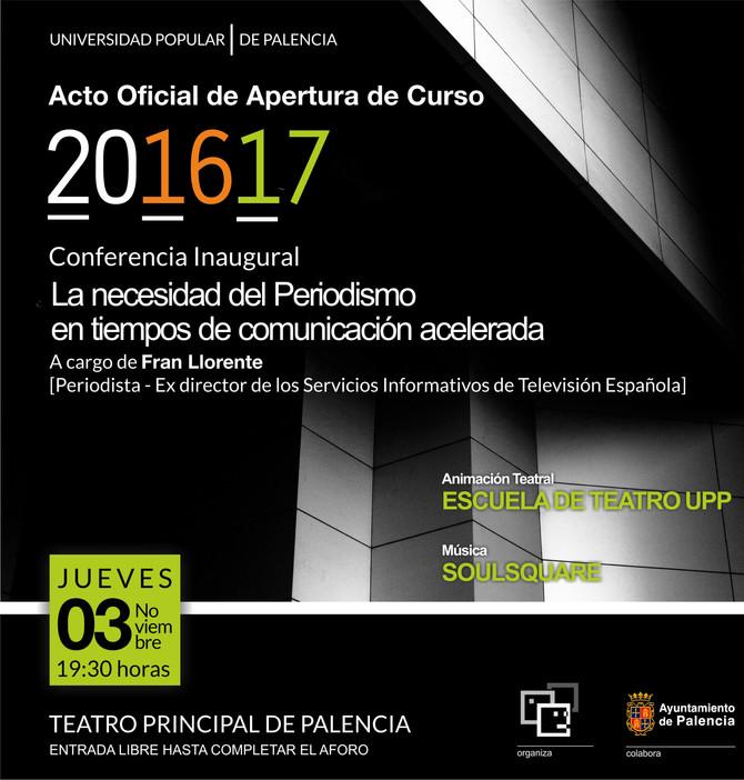 Acto de Inauguración Oficial del Curso 2016_2017