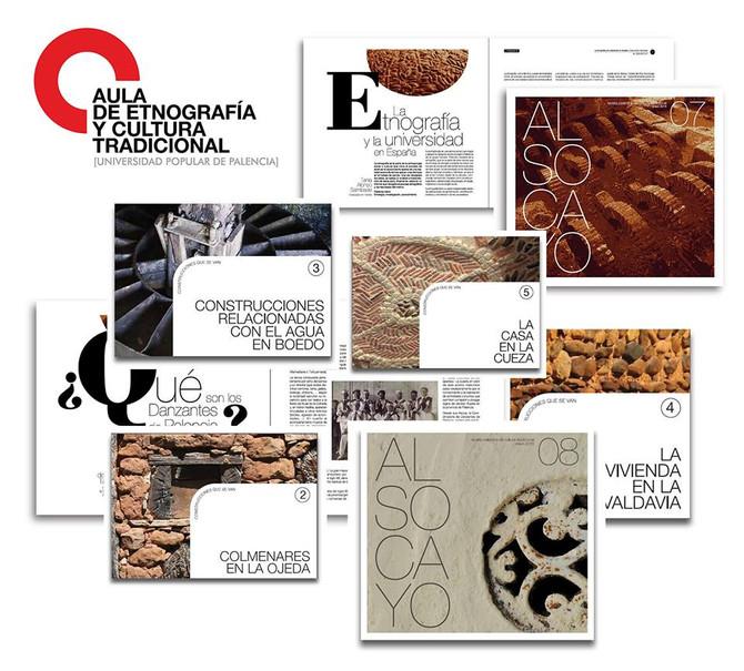 Disponibles on line las publicaciones del Aula de Etnografía y Cultura Tradicional