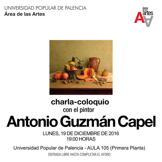 Charla-coloquio con Antonio Guzmán Capel