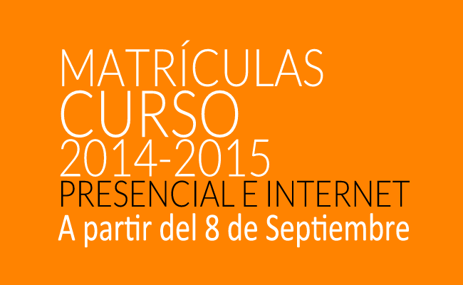 Matrículas 2014_2015