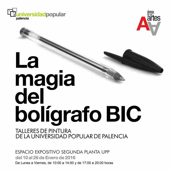 Exposición La mágia del bolígrafo BIC