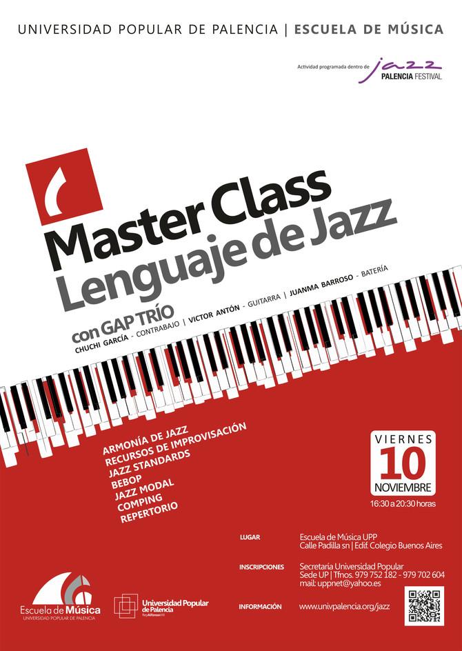 Master Class | Lenguaje de Jazz