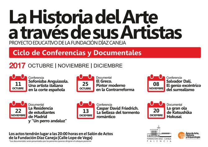 Ciclo de conferencias y documentales sobre Arte