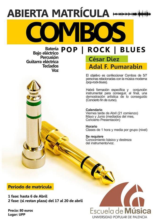 Escuela de Música | Combos Pop-Rock-Blues