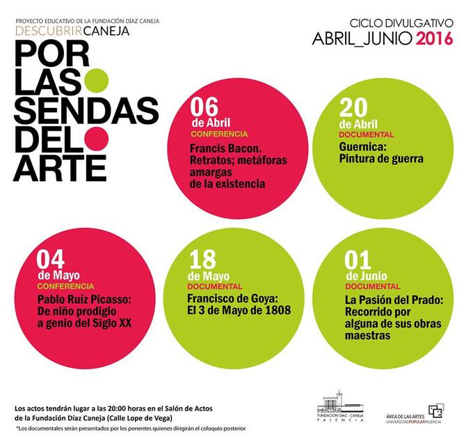 Proyecto divulgativo de la Fundación Díaz-Caneja Abril-Junio 2016