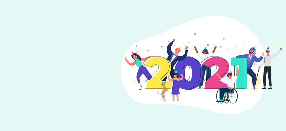 Happy new year wheelchair inclusion 2021 hilulu