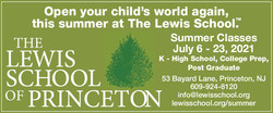 03-21 Lewis School of Princeton Web Ad -