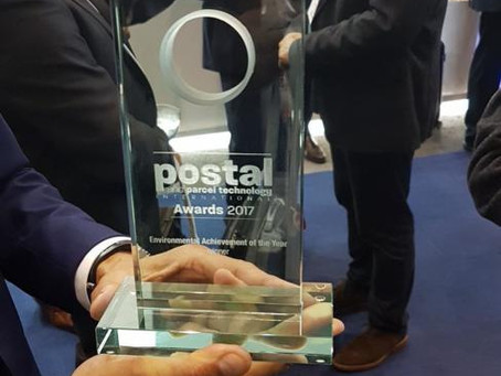 Postal and Parcel Technology International Awards Winner