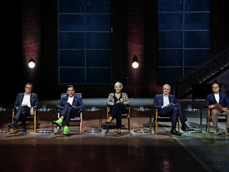 Our appreance on Dragon's Den (Leeuwenkuil)
