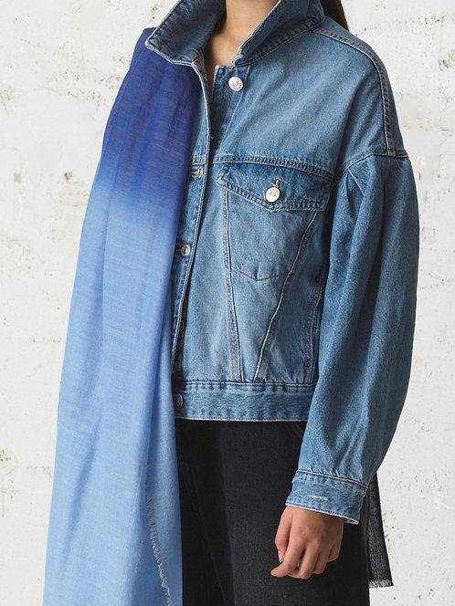 'Finola' Schal, Blue